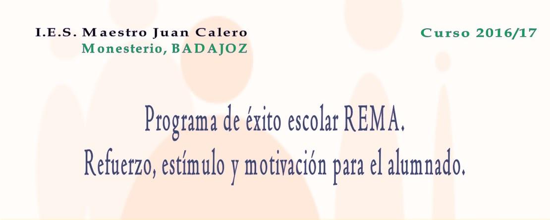 REMA I.E.S. Maestro Juan Calero. Monesterio (Badajoz)