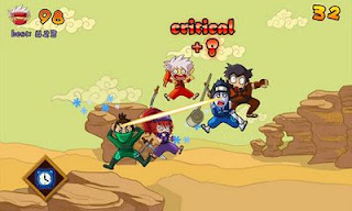 Screenshots of the Ninja Girl for Android tablet, phone.
