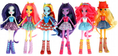 Possible Equestria Girls dolls