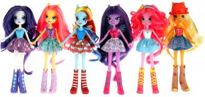 Possible Equestria Girls dolls