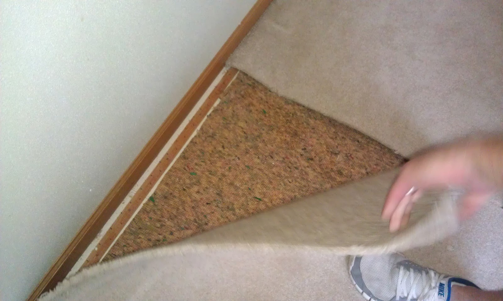 Home improvement information hardwood floors can go over for Hardwood over linoleum