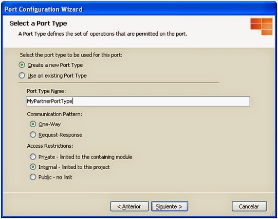 Configure BizTalk Direct Binding Partner Port - Step 2