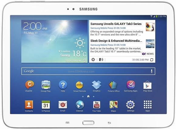 Harga Dan Spesifikasi Samsung Galaxy Tab 3 10.1 P5210
