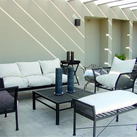 Decorando dormitorios muebles de fierro para terraza for Muebles de terraza fierro