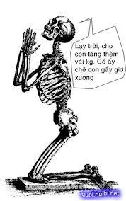 hình ảnh vui nhộn hài hước nhất bộ xương
