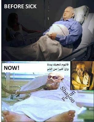 Jasad Ariel Sharon mantan PM Israel Membusuk Tak Diterima Bumi