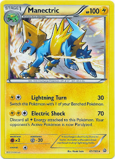Manectric Primal Clash Pokemon Card