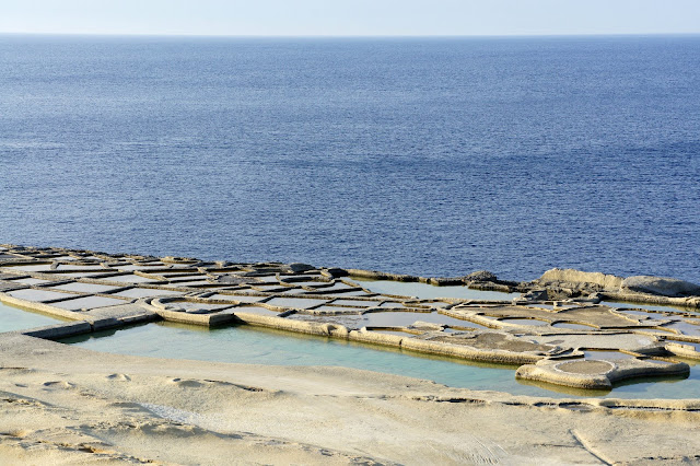 gozo salt pans seaside