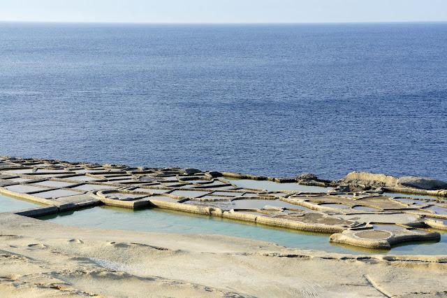 gozo salt pans seaside