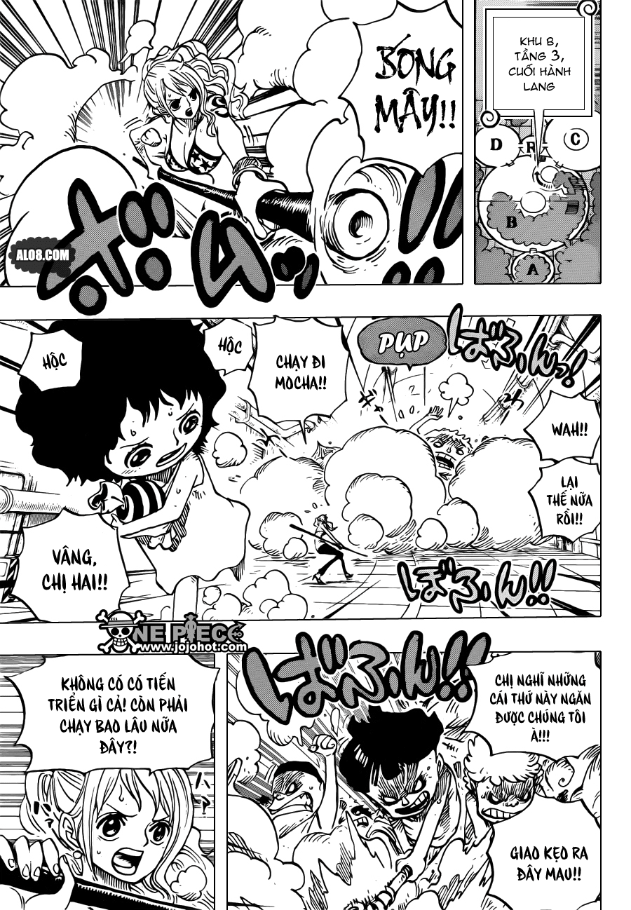 One Piece Chapter 688: Mocha 003