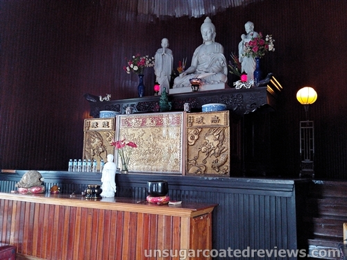 religious figures at Lon Wa Buddhist Temple in Davao City, Philippines