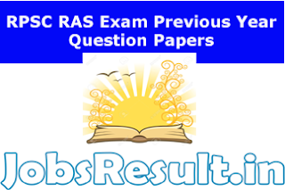 RPSC RAS Exam Previous Year Question Papers