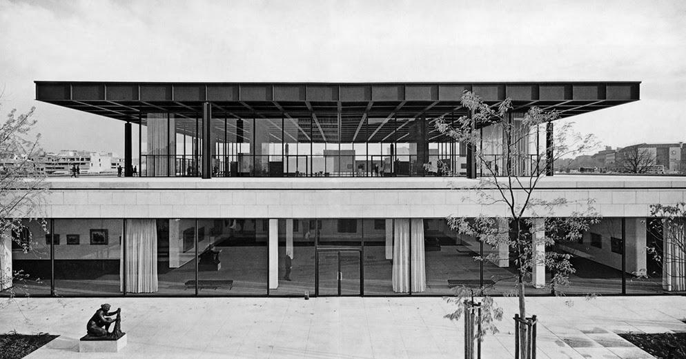 Ludwig Mies Van Der Rohe And Felix Candela S Industrial Buildings