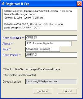 Cara Registrasi Billing Explorer DeskPro 6 2007