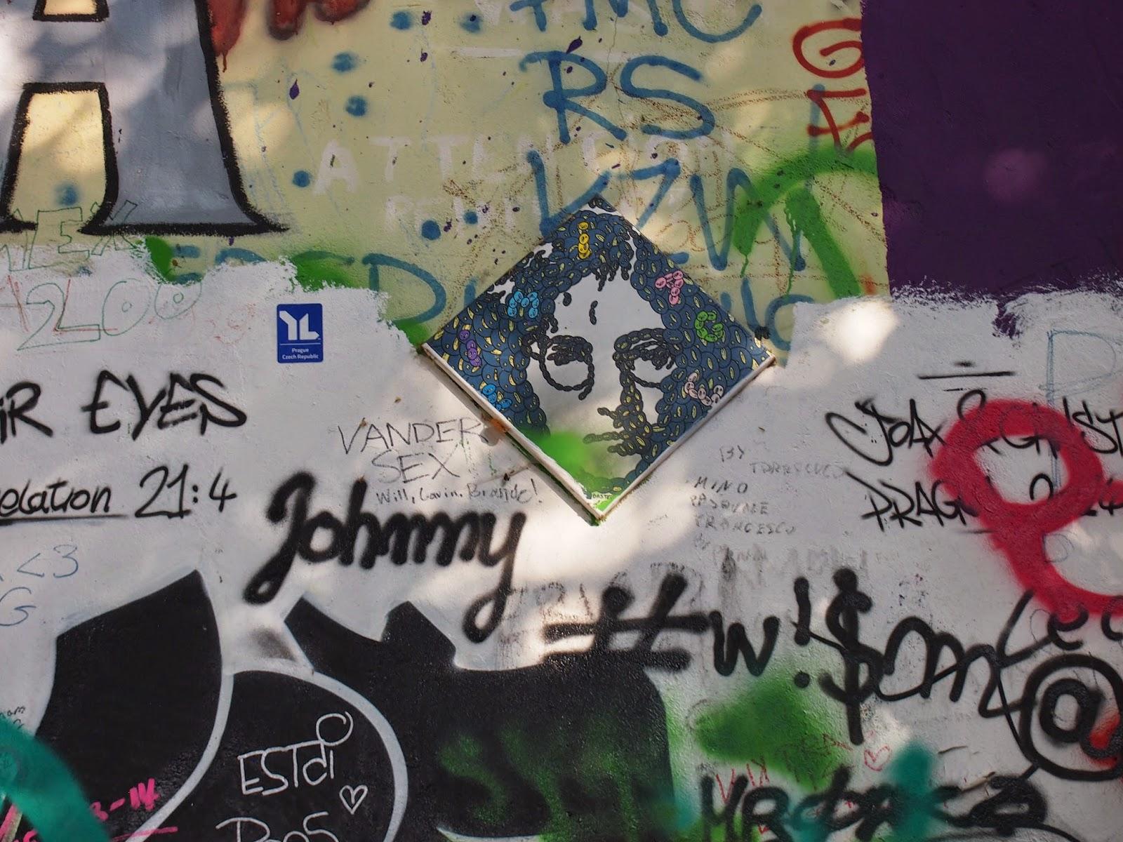 John Lennon and the Lennon Wall in Prague