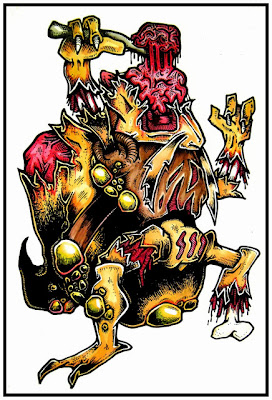 Zombie Pokemon by Daryl Hobson