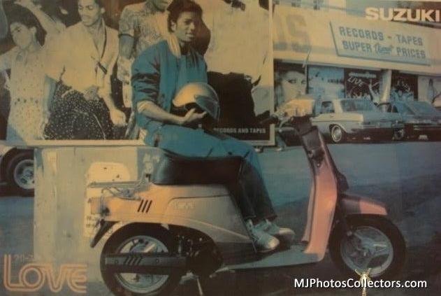 Michael Jackson Suzuki Comercial 3