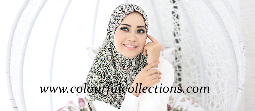 Colourful Collections: Tudung, Syria, Shawls, Inner & Telekung