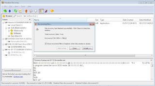 Mengembalikan File dengan Software Pandora Recovery 7