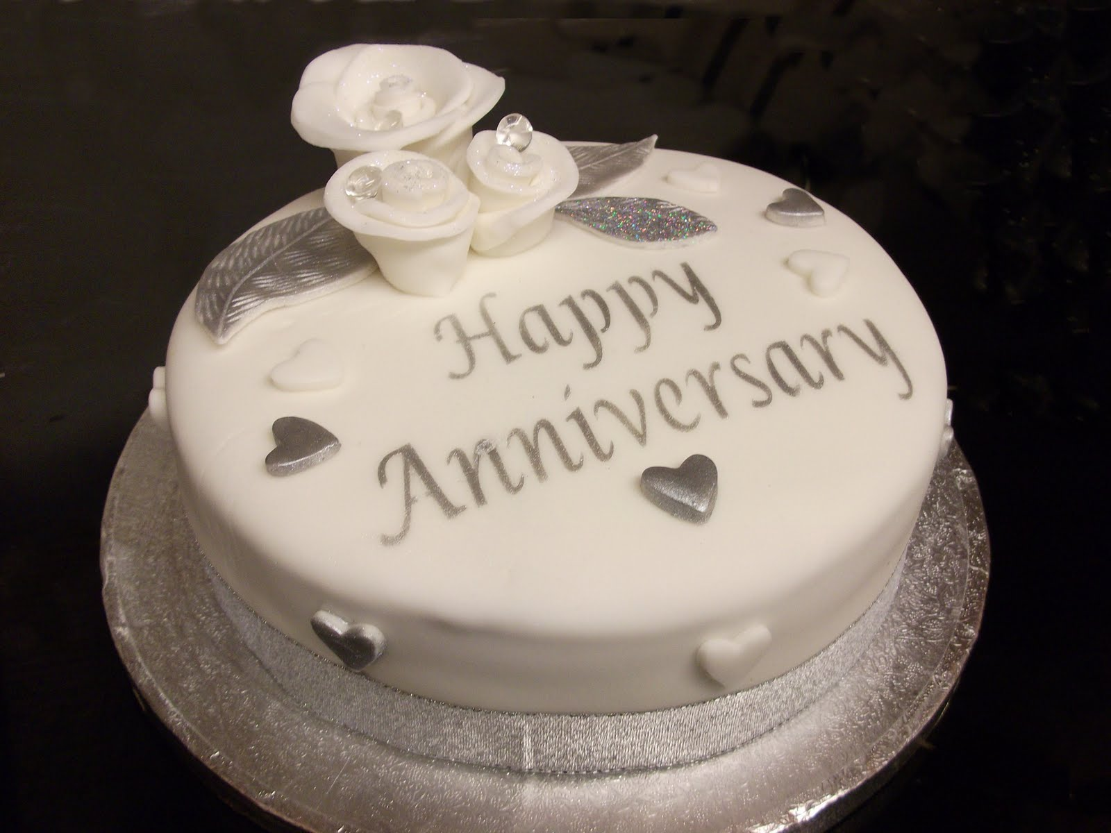 My Life in Cakes Silver Wedding Anniversary