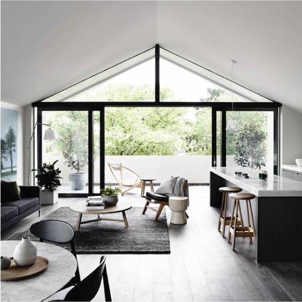 Stile minimal in bianco e nero per la casa al mare  Blog di ...