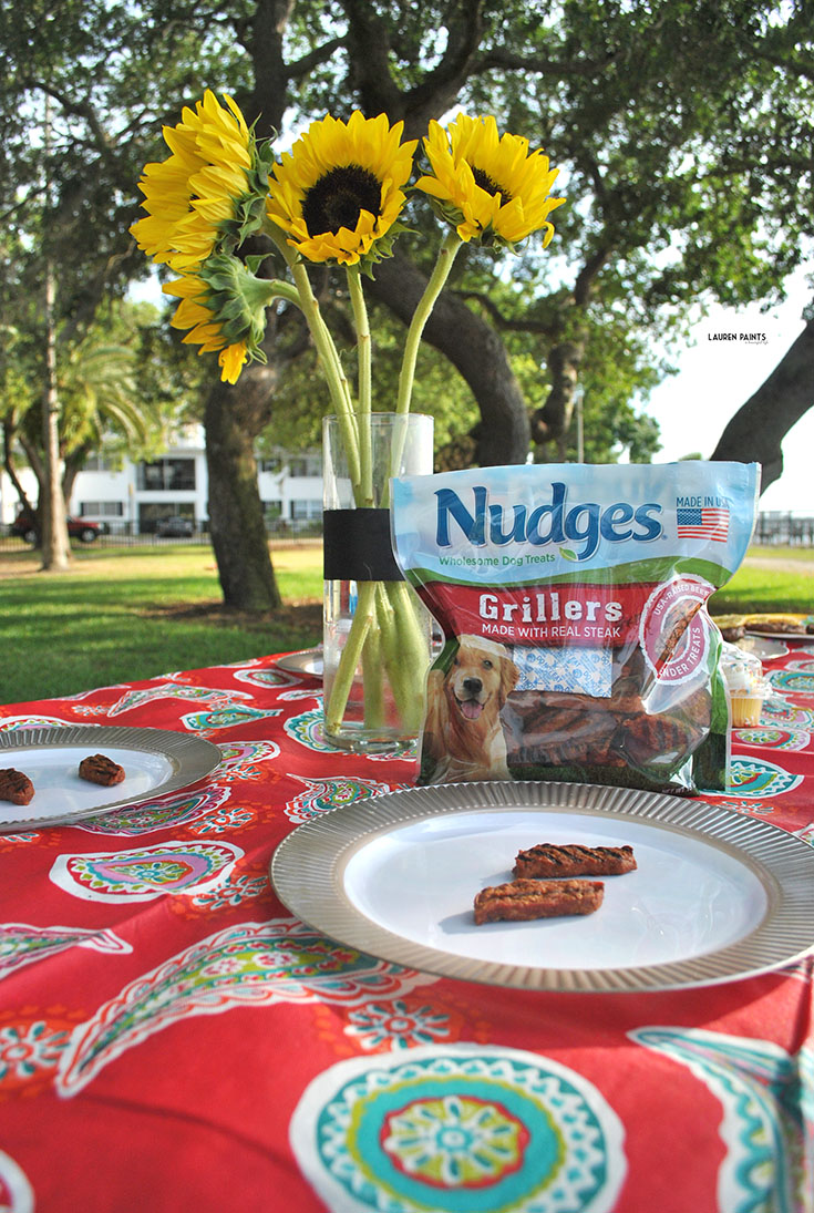 Dog Days Barbecue with My Pups + Nudges® Grillers and Sizzlers