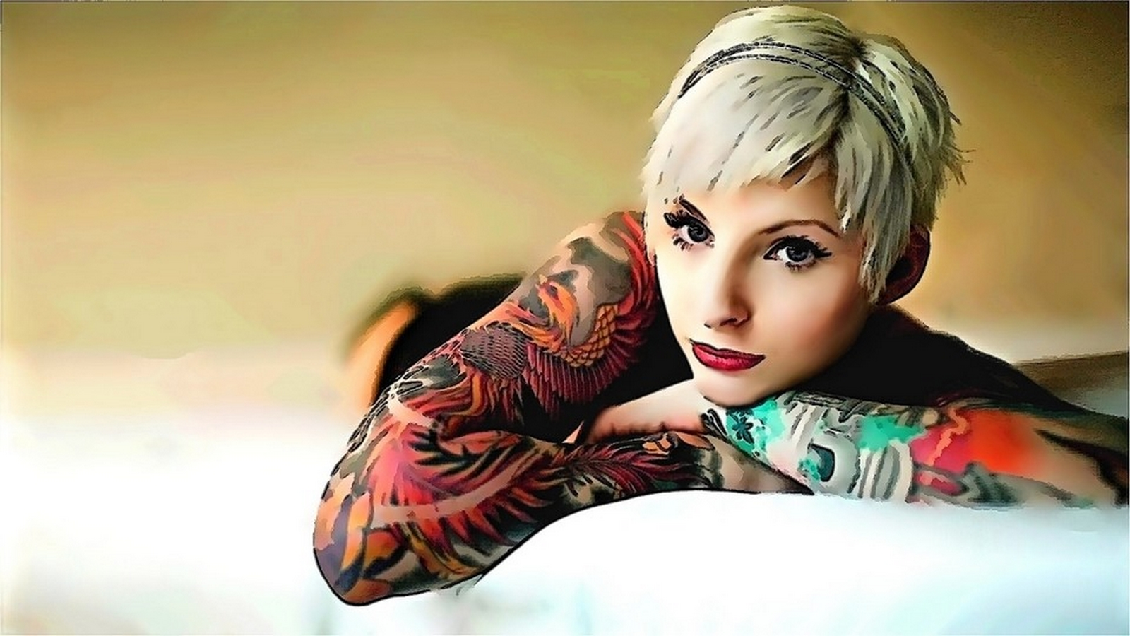 Tattooed Women Wallpapers Part 2
