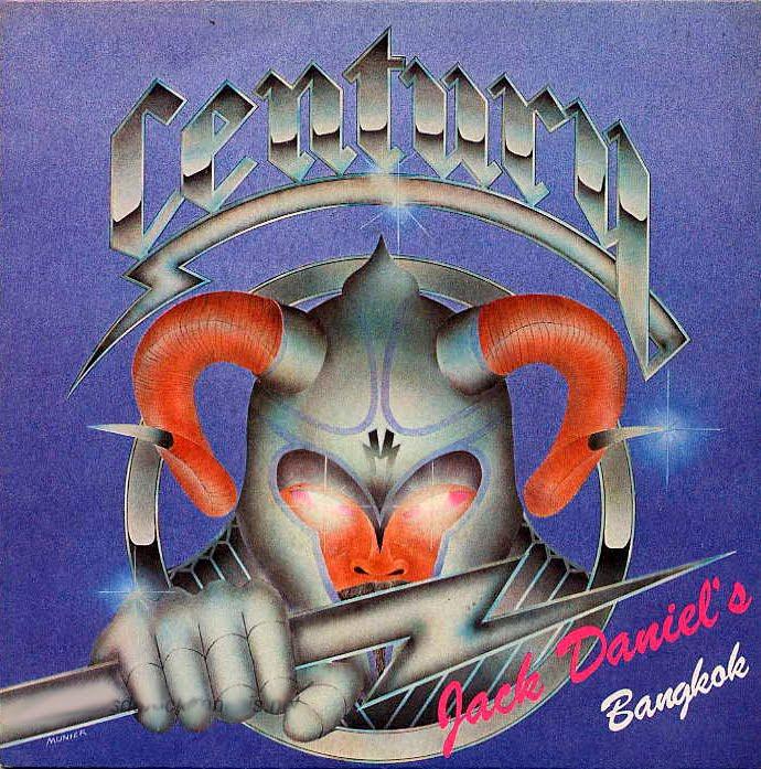 Century (Fra) - Jack Daniels [Single] (1982) Front