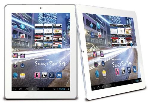 Nuovo processore, nuovo display e fotocamera posteriore da 5 mega pixel per lo Smart Pad 9,7 HD S4