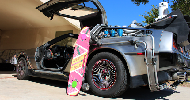 Hoverboard + ZBoard + Michael J Fox Foundation