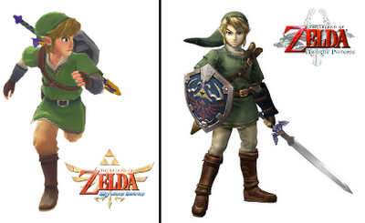 Twilight Princess VS Skyward Sword