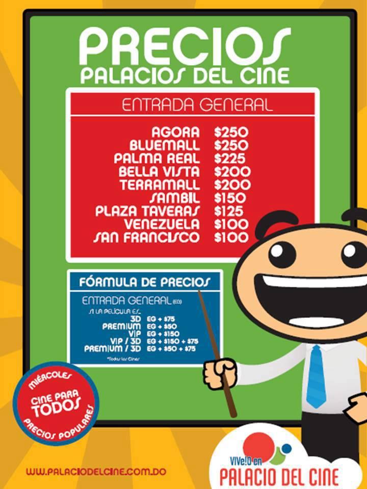 Promocioned precios de palacios del cine for Cines arenys precios