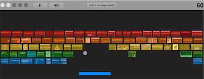 Google Easter Eggs  2015 Atari Breakout