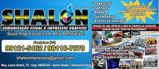 SHALON - Comunicação e impressos gráficos