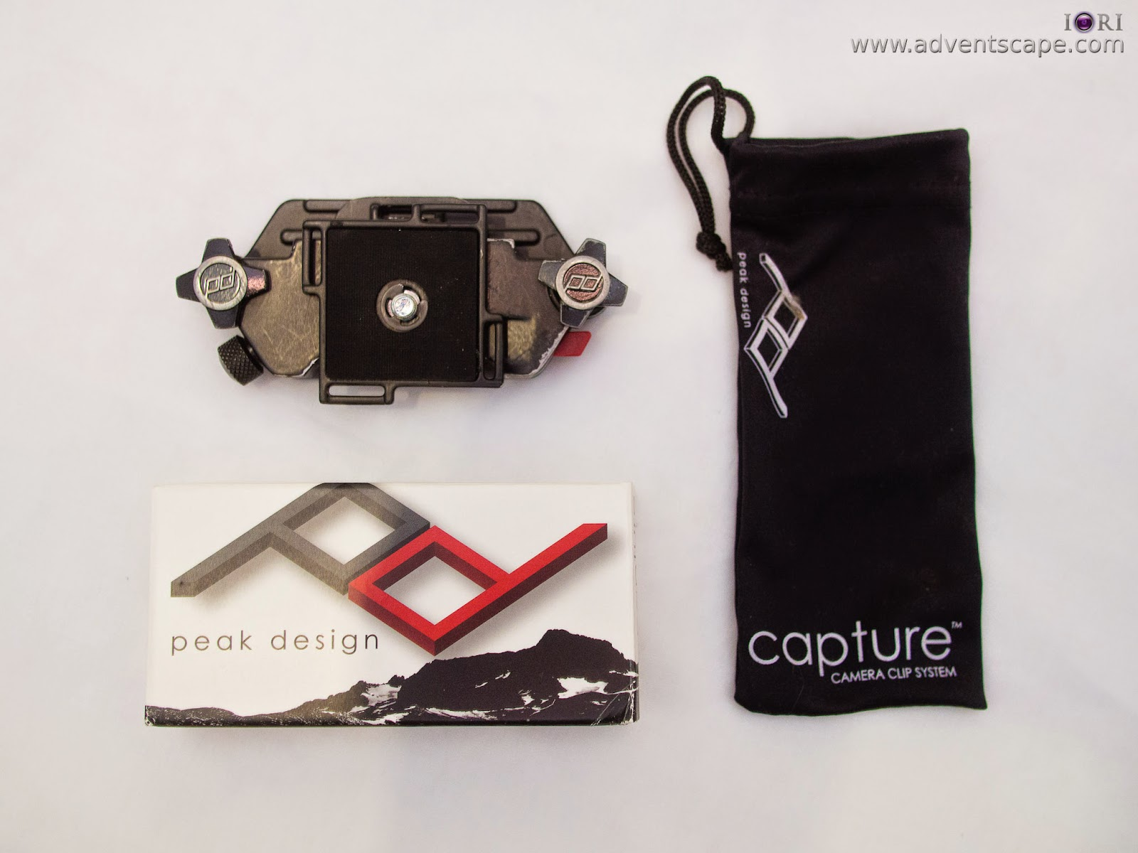 Philip Avellana, iori, adventscape, Peak Design, Capture Camera Clip System, Capture, Clip System, mount, Arca Swiss, unboxing