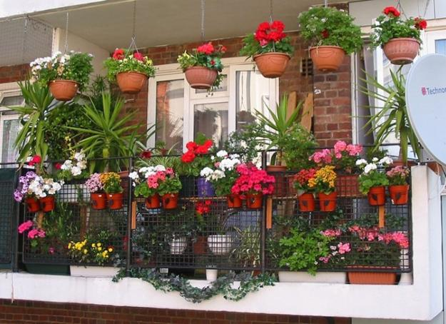 Evim in her ey balkon dekorasyon nerileri for Balcony decoration ideas india