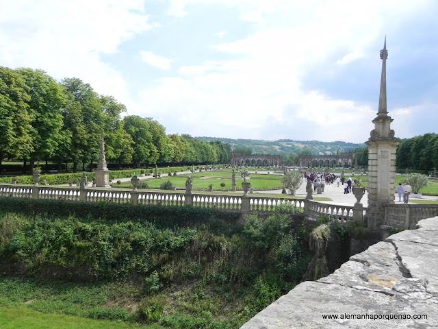 Jardins do Castelo em Weikersheim