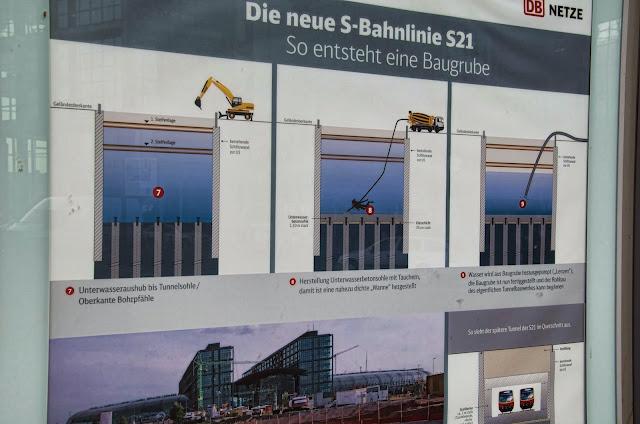 Baustelle Berlin Hbf, Europaplatz, 10551 Berlin, Invaliderstraße, 11.03.2014