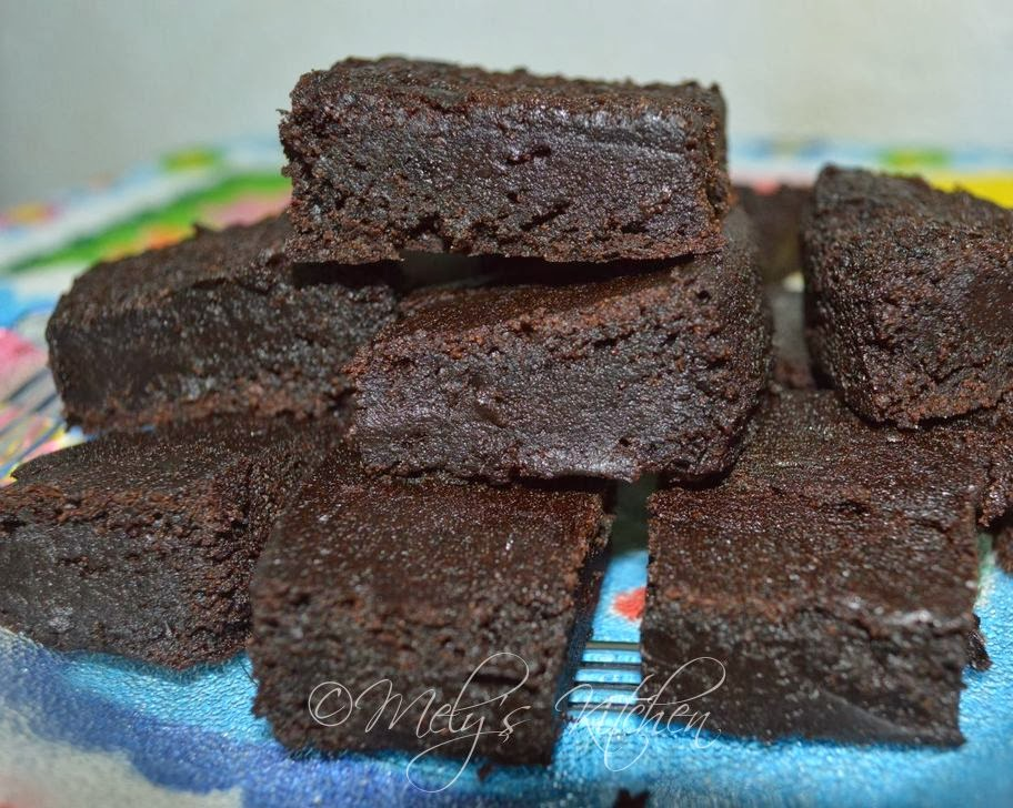 Mely's kitchen: Eggless Brownies