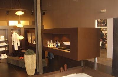 Decoracion actual de moda paredes pintadas de chocolate - Decoracion de paredes pintadas ...