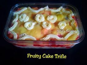Fruity Cake Trifle