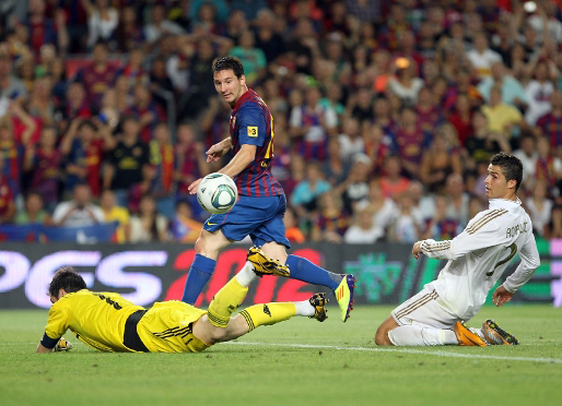 Messi gol Real Madrid