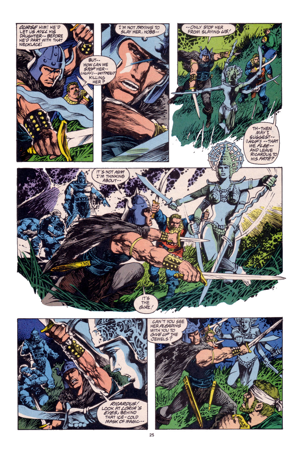 Conan the Barbarian (1970) Issue #261 #273 - English 19