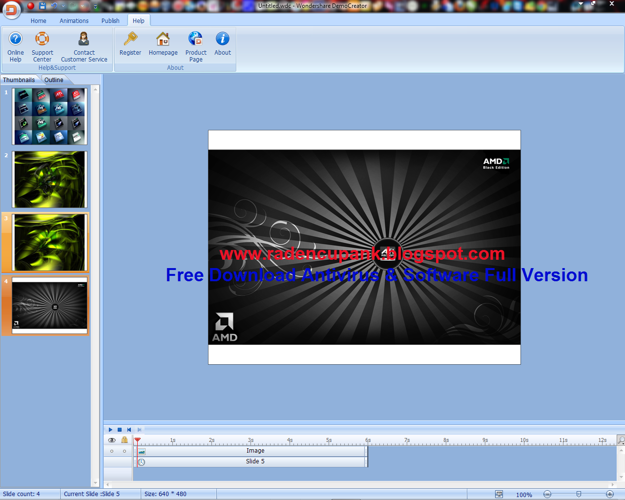 Wondershare DemoCreator 3.5.2 + Keygen