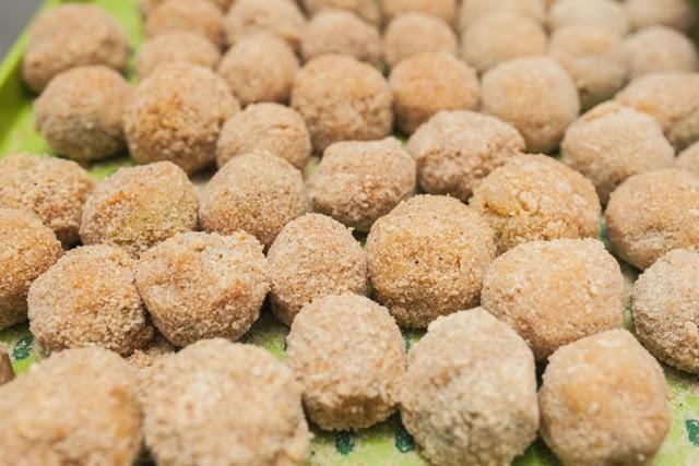 Фаршированные оливки (праздничная итальянская горячая закуска)