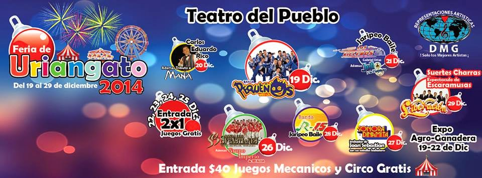 Feria uriangato 2014 programa