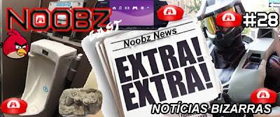 Notícias Bizarras Podcast Games Noobzcast