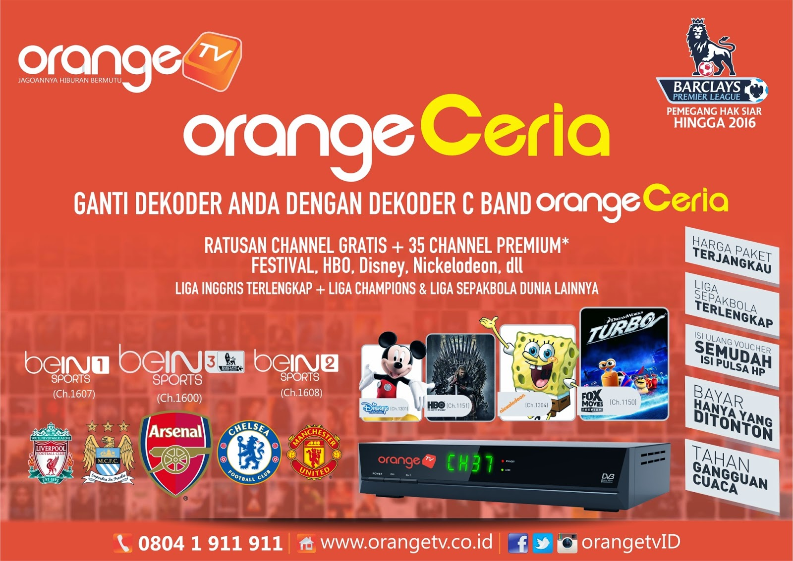 images c-band orangtv