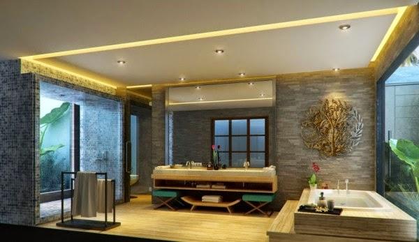 Desain Interior Kamar mandi rumah terbaru 2014