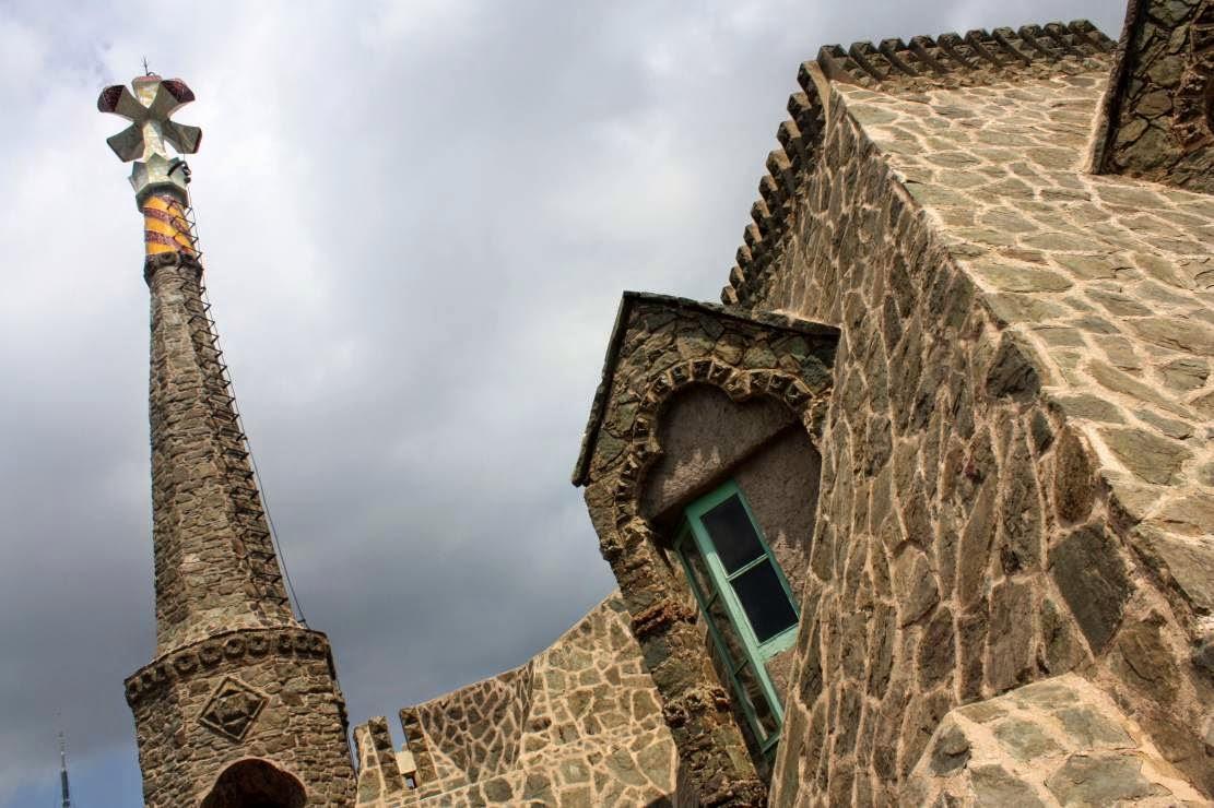Roof of Torre Bellesguard